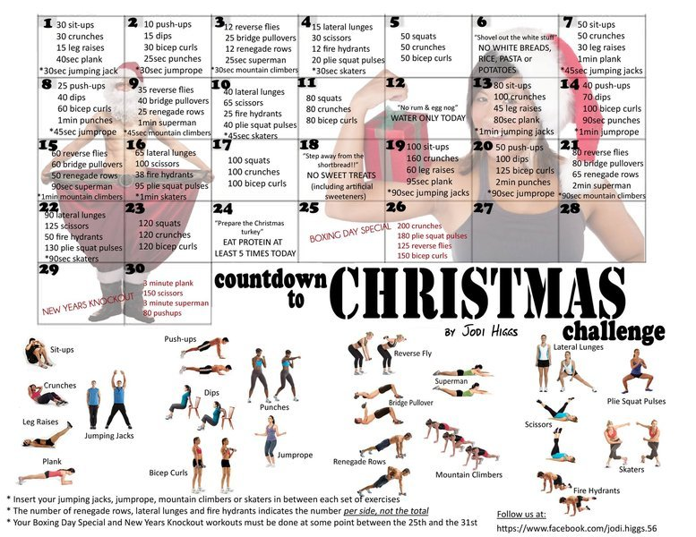 30 Day Challenge - Fitness Lover